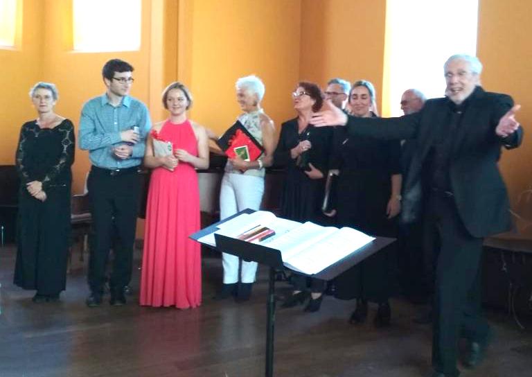 Daniela, George, Evie and Der Kleine Chor in Bielefeld