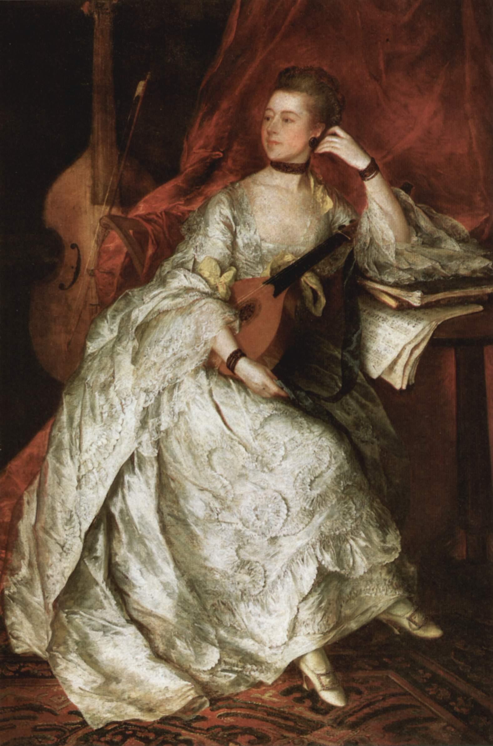 Portrait of Ann Ford 1760